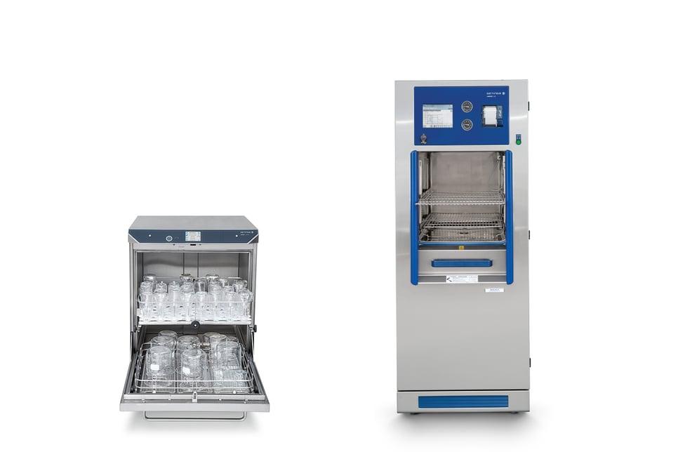 Getinge Lancer Lab sterilizer and washer